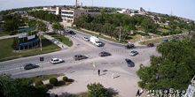 Webcam Evpatoria - Crossroads of Chapaev streets and the Constitution