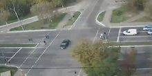 Webcam Mariupol - Crossroads of Mira Avenue and Zelinsky Street