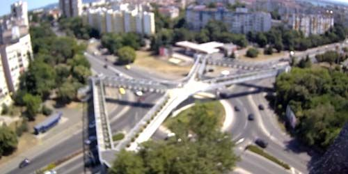 Webcam Burgas - Crossroads in the city center