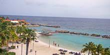 Webcam Willemstad - Beaches on the island of Curacao