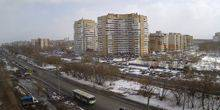Webcam Omsk - the neighborhood on the street Dianova