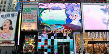 Disney Store in Times Square New York