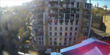 Webcam Odessa - Construction of a multistory building