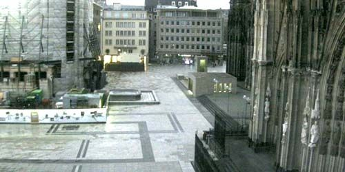 Webcam Cologne - Domkloster square