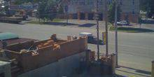 Webcam Rostov-on-don - The car wash down the street Dovatora