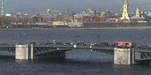 Webcam Saint Petersburg - Palace bridge
