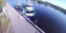 "Webcam Nikolaev - Embankment, catamaran ""Love Ivanova"""
