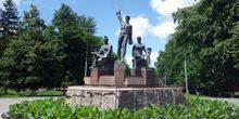 Webcam Slobozhansky (Komsomol) - Monument energy