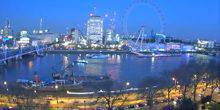 Webcam London - Ferris wheel London eye