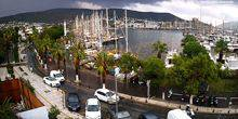Webcam Bodrum - Ferry bay with berths for yachts