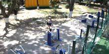 Webcam Kerch - Fitness equipment in the park