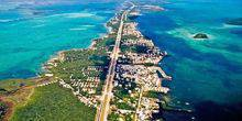 Webcam Key Largo - Panorama of Florida Keys