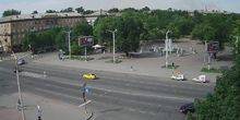 Webcam Zaporozhye - Fountain of Life, Mayakovsky Square