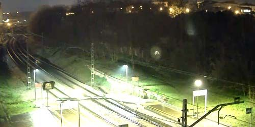 Webcam Gerona - Fornells de la Selva railway station