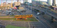 Webcam Warsaw - Area of the fortieth, dangerous intersection