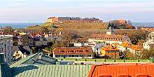 Webcam Varberg - View of the old fortress