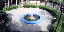 Webcam Nikolaev - fountain in the square of Chernovil