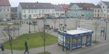 Webcam Gvardeysk - The fountain in the Central square