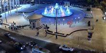 Webcam Novokuznetsk - Drama Theater Fountain, KMK Palace of Culture