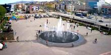 Webcam Petropavlovsk-Kamchatsky - Musical fountain, view of the Central Department Store