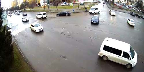 Webcam Uzhgorod - The Freedom Avenue