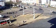 Webcam Vitebsk - Tram station on Frunze Avenue