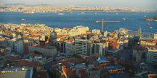 View from the Galata Tower Istanbul