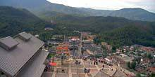 Webcam Knoxville - Panorama of the mountain resort of Gatlinburg