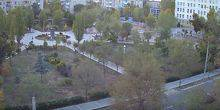 Webcam Severodonetsk - The square of a name of Gogol
