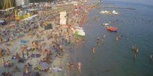 Webcam Kherson - The beach in the village of Iron port