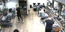 Webcam London - Men's Hairdresser E-Street Barbers