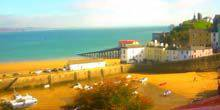 Webcam Tenby - Beaches in a beautiful harbor