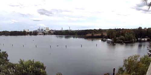 Webcam Berlin - Lake Havel, view of the Spandau Citadel