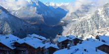 Webcam Martini - Verbier - panorama from a height