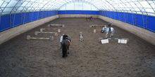 "Webcam Nizhny Novgorod - Horse riding in the sports village ""Novinki"""