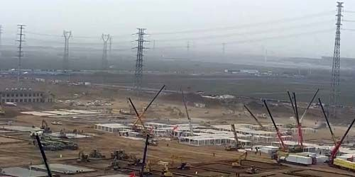 Webcam Shijiazhuang - Hospital construction