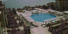 Webcam Pernik - Hotel with swimming pool on The black sea coast