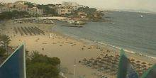 Webcam Palma (Mallorca Island) - Beach in one of the hotels
