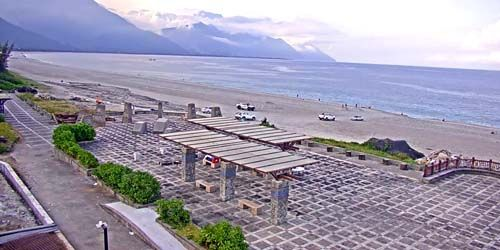 Webcam Taipei - Beaches in Hualien County, Taiwan