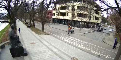 Webcam Uzhgorod - Independence embankment