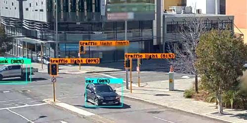 Webcam Perth - Artificial Intelligence Camera