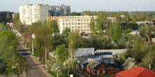 Webcam Shostka - The intersection of streets Sumy and Voronezh
