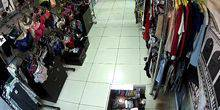 Webcam Omsk - Shopping centre Europe, the store Intimo Italy