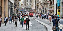 Webcam Istanbul - The pedestrian Istiklal street