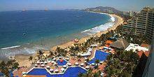 Webcam Zihuatanejo - Beautiful bay in the village of Ixtapa