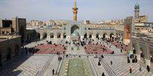 Webcam Mashad - The Jomhori courtyard of the Imam Reza Mausoleum