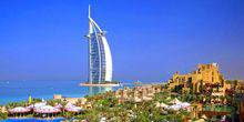 Webcam Burj Al Arab Jumeirah hotel