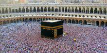 Webcam Mecca - The Kaaba in the Masjid al-Haram Mosque