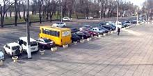 Webcam Odessa - Traffic on Kanatnaya street