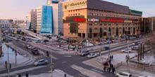 Crossroads of Kirov and Ordzhonikidze streets Yakutsk